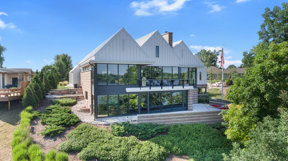 1.5 Million Dollar House De Pere Aerial Photo